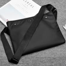 Casual Korean Men Shoulder Bag School Large Capacity Shoulder Bag Fashion Crossbody Travel Bolsos Hombre Mens Bag DE50NDJ
