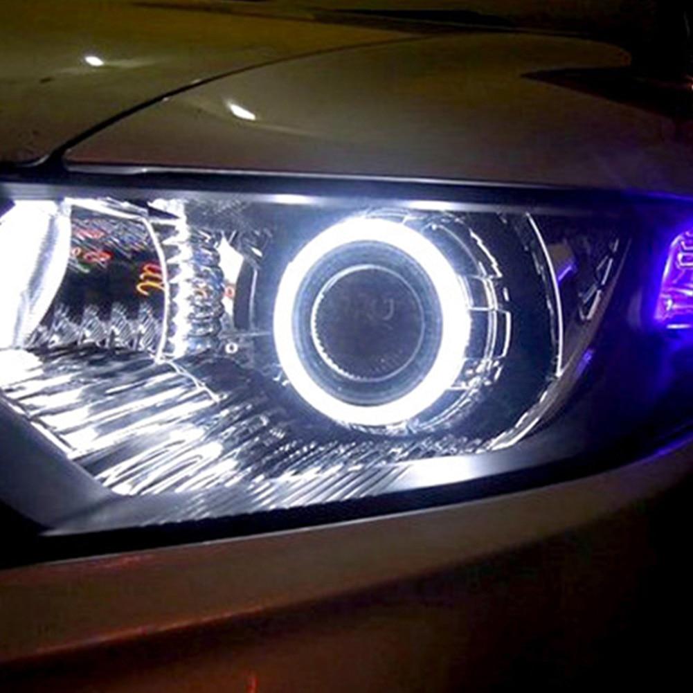 DC 12V/24V Round COB LED Light Ring 80mm Car Angel Eyes/Width Lamp/Fog Lamp Decoration