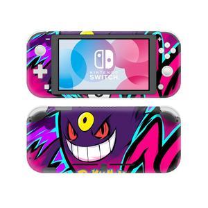Покемон го Пикачу наклейка на кожу для nintendo Switch Lite консоль и контроллер протектор Joy-con переключатель Lite наклейка на кожу