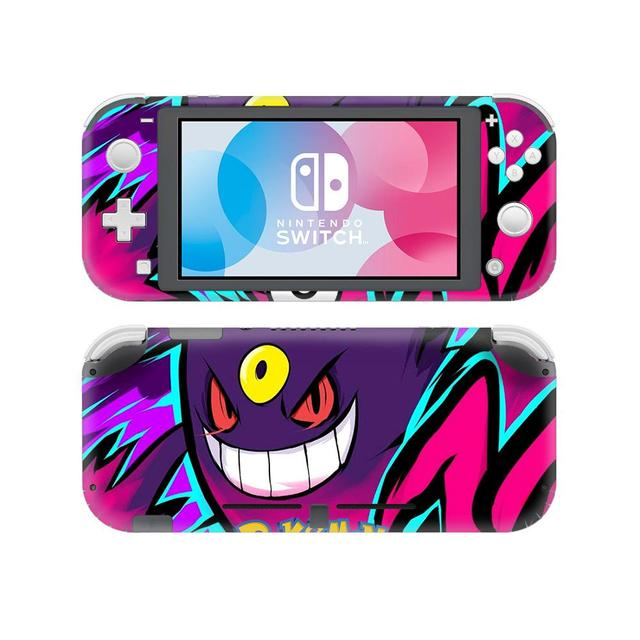 Pokemon Go Pikachu Skin Sticker Decal For Nintendo Switch Lite Console and Controller Protector Joy con Switch Lite Skin Sticker