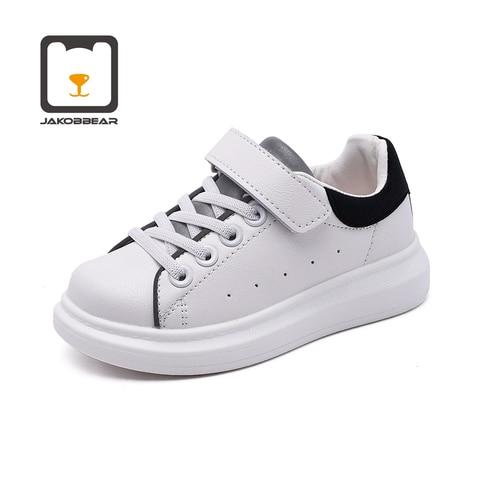 criancas sapatos de couro branco para meninas meninos criancas esportes tenis manter quente correndo ouro