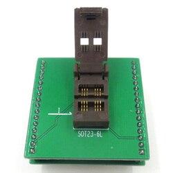 SOT23 SOT23-6 SOT23-6L IC тестовая розетка/программатор адаптер/горящая розетка