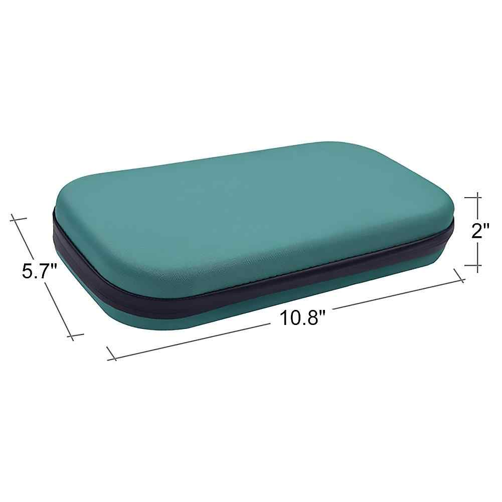 Portable Stetoskop EVA Hard Case Penyimpanan Membawa Tas Shockproof Paket Bayi Fetal Doppler Heartbeat Detector Medical Organizer