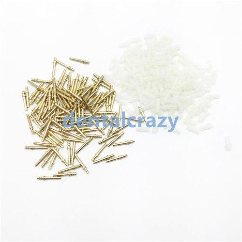 Dental Lab Brass Dowel Pin with Sleeve Long Medium Short 20MM 16MM 10MM Dental Supply