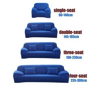 Image 4 - פינת ספה מכסה לסלון כיסויים אלסטי למתוח חתך ספה cubre ספה, L צורת צריך לקנות 2 חתיכות