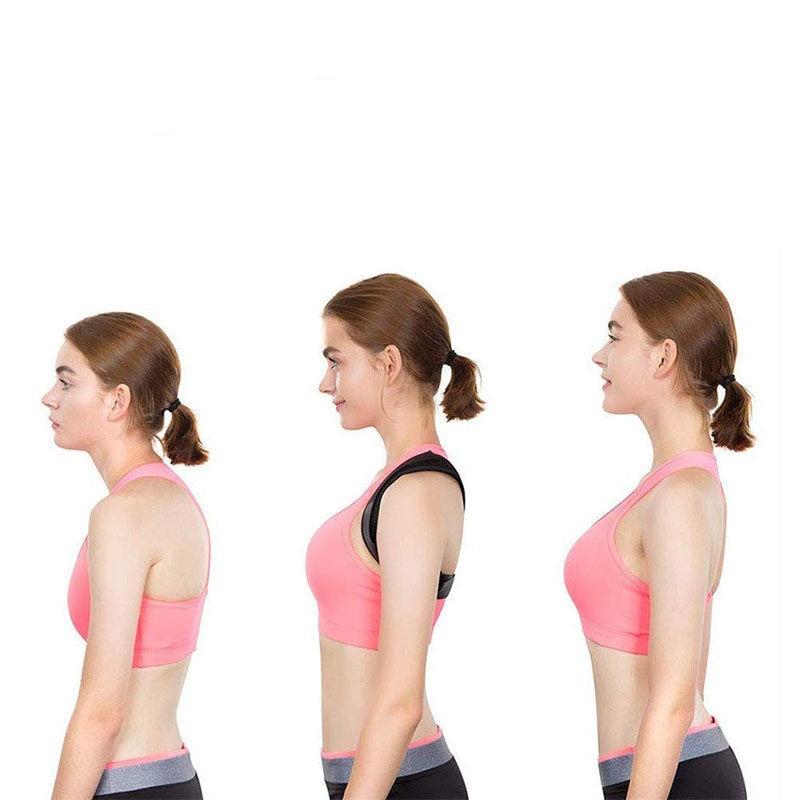 Medical Adjustable Clavicle Posture Corrector Men Woemen Upper Back Brace Shoulder Lumbar Support Belt Corset Posture Correction 6