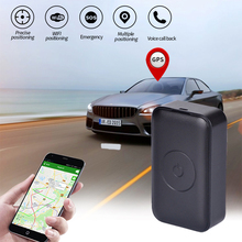 Portable GPS Car Tracker Mini Portable Magnetic Real Time Vehicle Locator Anti-lost Recording Global Tracking Device