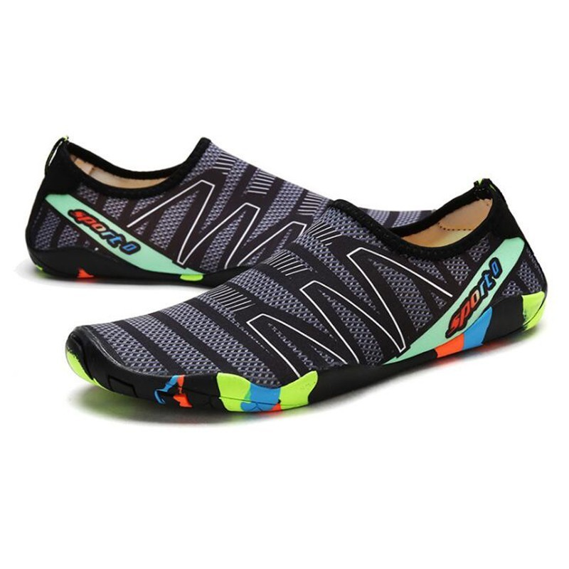 Men Women  Aqua Shoes Sneakers Quick Dry Swimming Footwear Unisex Outdoor Breathable Upstream Beach Shoes 7