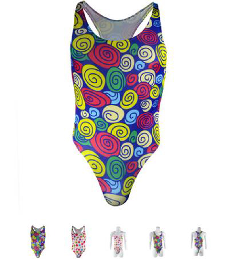 Brand Sexy Mens Underwear Shaper Print Dot Man Bodysuit Jumpsuit Thongs Mankini ZJH0869L