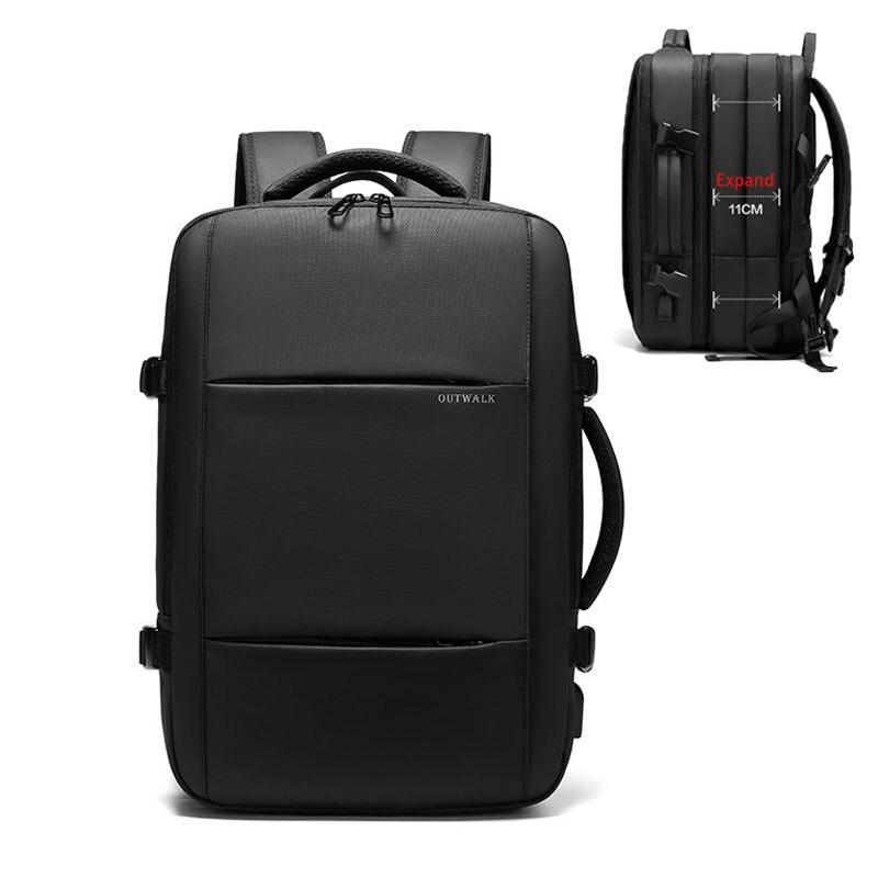 Многофункциональный мужской рюкзак, водонепроницаемые Рюкзаки, USB 15,6 дюймов, рюкзак для ноутбука для мужчин, большая многослойная дорожная ...