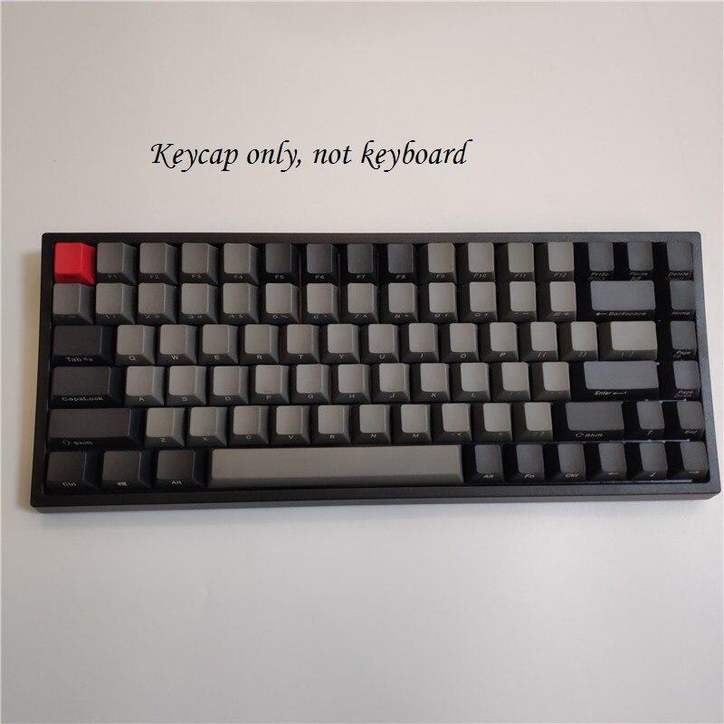 Keycool 84 Mini Mechanical Keyboard PBT Keycap Mini84 Compact Game Keyboard Side Print Keycaps Retro Dolch Cherry Mx Keys