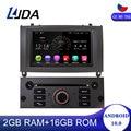 LJDA Android 10,0 Автомобильный DVD плеер для PEUGEOT 407 2004 2005 2006-2010 1DIN автомобиль радио GPS навигации DSP WI-FI стерео видео с can-bus