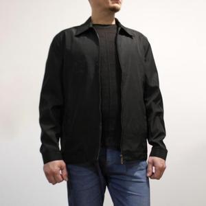Image 2 - 봄 가을 망 패션 대표팀 재킷 품질 단색 검정 남성 윈드 브레이커 고품질 브랜드 남성 의류 크기 M 3XL