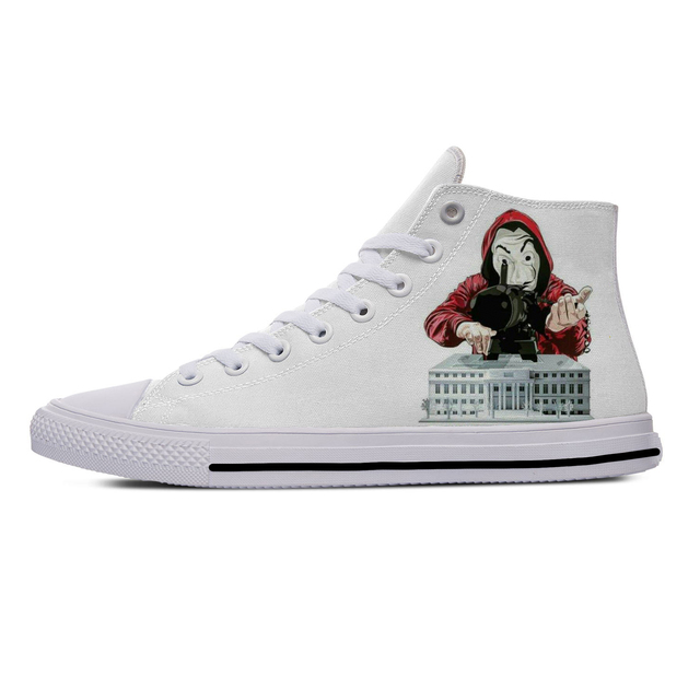 LA CASA DE PAPEL HIGH TOP SHOES (6 VARIAN)