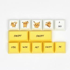 Image 5 - Клавиатура Pikachu XDA, колпачки для клавиш PBT, краситель для переключателей Cherry MX 61 84 87 96 108 XD60 XD64 GK61 GK64 GH60, механическая покерная клавиатура