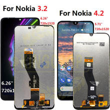 For Nokia 3.2 LCD TA 1156 1159 1164 Display Touch Screen Digitizer Assembly Replacement For Nokia 4.2 lcd TA 1184, 1133,1149,