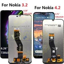 Pour Nokia 3.2 LCD TA 1156 1159 1164 écran tactile numériseur assemblée remplacement pour Nokia 4.2 lcd TA 1184, 1133,1149,