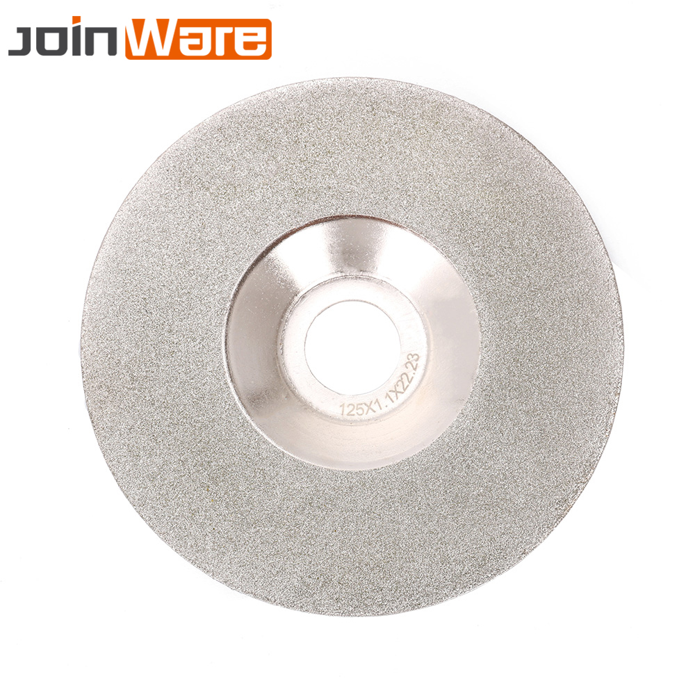 125mm Diamond Grinding Wheel Cutting Disc For Jade Marble Tile Glass Angle Grinder Rotary Tools Abrasive Tool