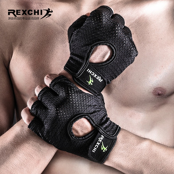 Fitness Gloves Men Half Finger Thin Female Sports Outdoor Apparatus Training Wear-Resistant Anti-slip Horizontal Bar Dumbbell hu свитшот print bar hu ss masks
