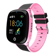 Kids Bluetooth Position Location SOS Waterproof Voice Chat Pedometer Safe Family Phone Call Smartwatch LCD Wearable Devices(China)