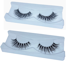 Mink-Eyelashes Clear-Band Handmade 1pair Crisscross NEW