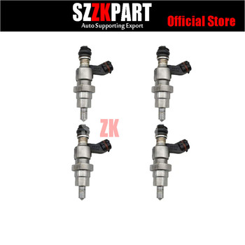 4PCS Free Shipping Fuel injector 23250-28030 For Toyota Fuel Injection 2320928030 for TOYOTA Rav4 1AZ-FSE D4 2.0L Engine