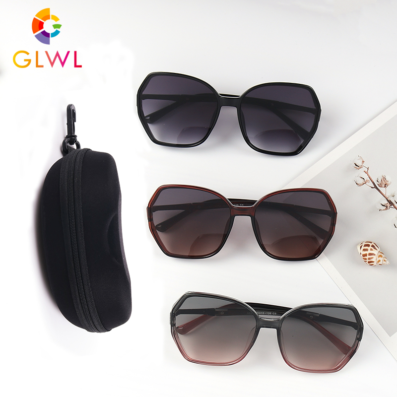 Vintage Sunglasses Women With Case Women's Sun Glasses Fashion Designer Eyewear Female Black Eyeglass Box High Quality 2020 Hot