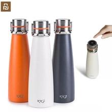 Originele Youpin Kkf Smart Vacuüm Thermos Draagbare Roestvrij Staal Isolatie Water Cup Heet Water Cup Voor Outdoor Sport