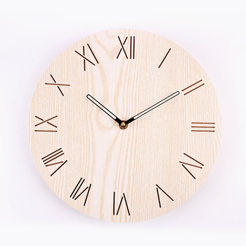Large Wooden Nordic Style Wall Clock Modern Design Watches For Kitchen Living Room Watch Wood Wall Clocks Home Decor New II50BGZ