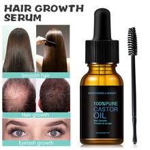 Essential-Oil 100%Castor-Oil Eyebrows-Hair Brush Nourishing Stimulate-Growth Eyelash