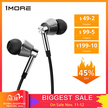 1MORE E1001 Triple Driver In Ear Earphones Earbuds for iOS and Android Xiaomi Phone Compatible Microphone and Remote