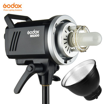 Godox MS200 200W or MS300 300W Bowens Mount Flash 2.4G Built-in Wireless Receiver Lightweight Compact & Durable Studio Lamp image