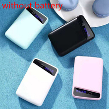 Battery-Charger for Mobile-Phones 4-Colors 5V1A 3x18650 1pc Power-Bank External-Box Usb-Ports