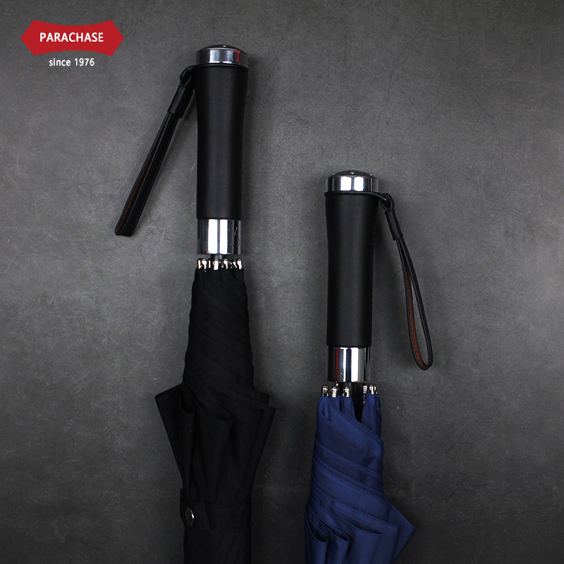 Parachase Long Handle <font><b>Umbrella</b></font> Men Women Germany 500T Waterproof Thick Fabric <font><b>Golf</b></font> <font><b>Umbrella</b></font> <font><b>Windproof</b></font> 8 Ribs Clear <font><b>Umbrellas</b></font> image