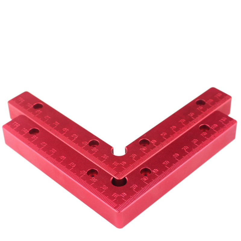 2 pc 90 Degrees L-Shaped Auxiliary Fixture Splicing board Positioning Panel Fixed clip Carpenter's Square Ruler Woodworking tool