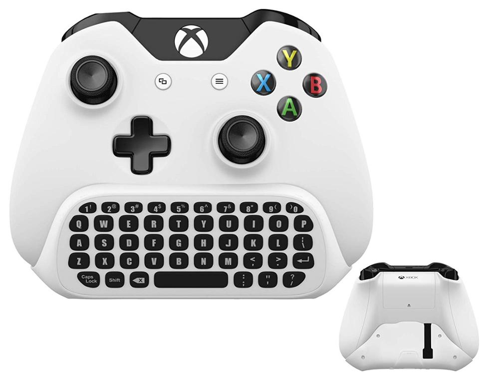 Wireless Keyboard ChatPad For Microsoft Xbox One QuickType Keyboard White With USB Receiver For Xbox One Game Controller Gamepad