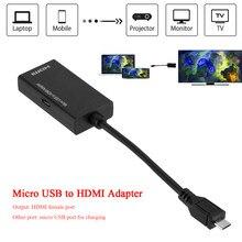 Micro USB 2.0 a HDMI scheda Video esterna adattatore Multi Monitor convertitore adattatore cavo per Samsung HTC LG telefono Android