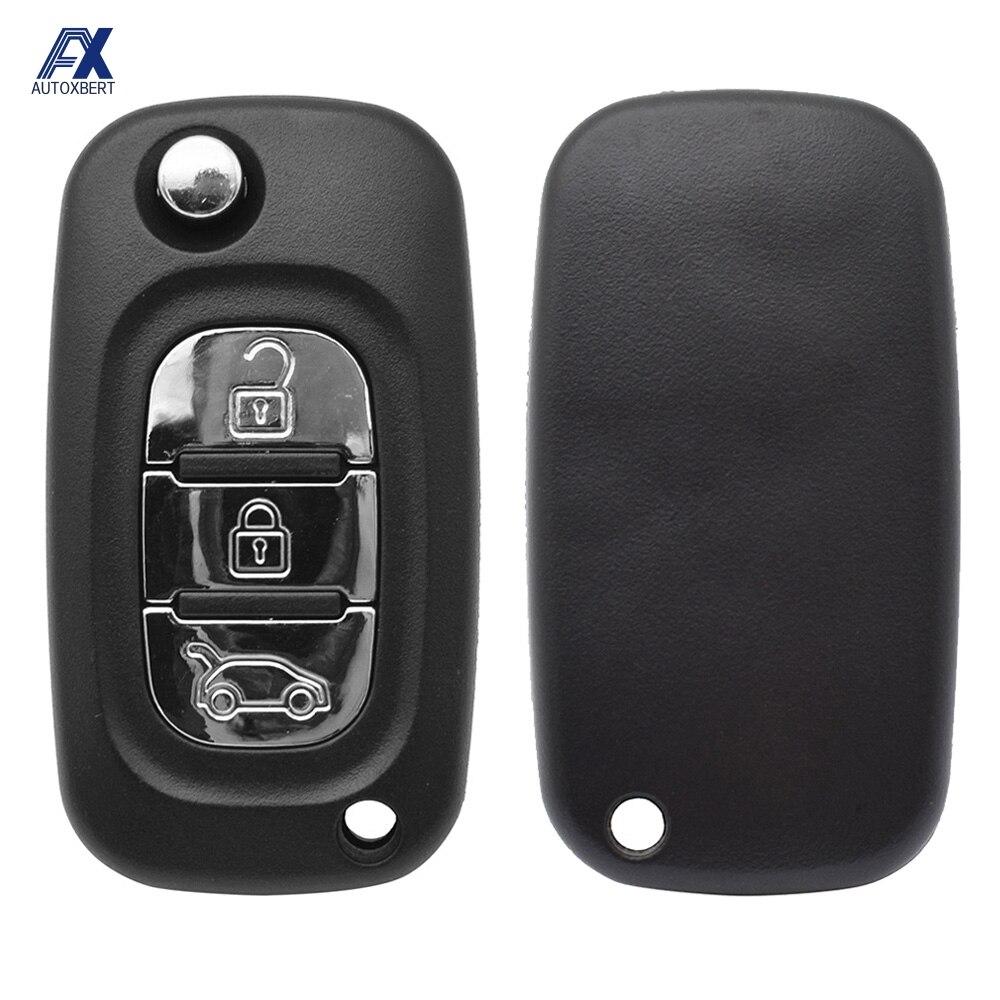 Автомобильный Дистанционный флип чехол для ключей для LADA Priora Kalina Granta Vesta Xray X Ray, запасной чехол с 3 кнопками, неразрезанное лезвие 2014 2019|Футляр для автомобильного ключа|   | АлиЭкспресс