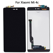 For Xiaomi Mi 4c  Touch Screen Panel With Display Digitizer Assembly For Mi4C LCD Touch Sensor