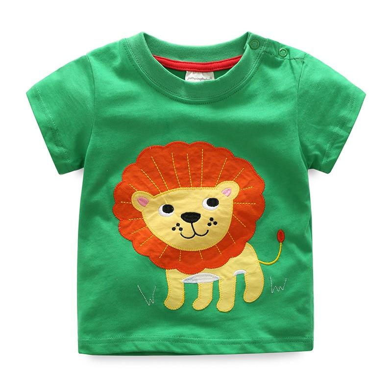 2019 New Boys T-Shirt Camiseta Children Clothing Camisetas Kids Clothes Dinossauro Tshirts Costume Roupas Infantis Menino Baby