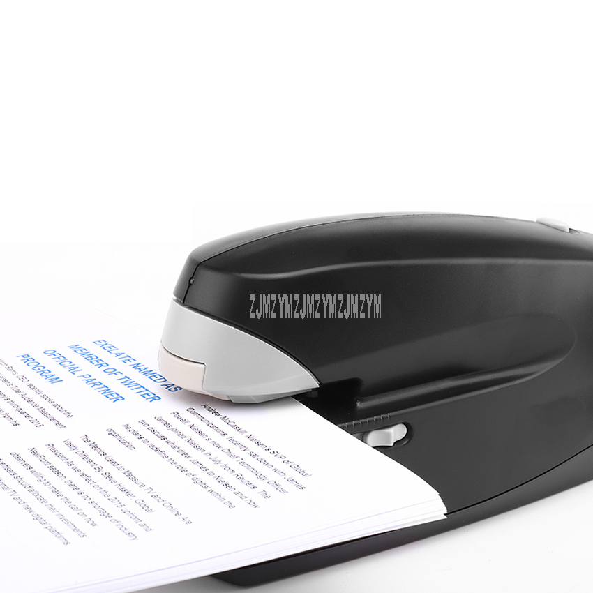 Electric Automatic Office Stapler Paper Documents Paper Book Binding Stapling Machine 24/6 26/6 Office Stationery Supplies|Binding Machine| |  - title=