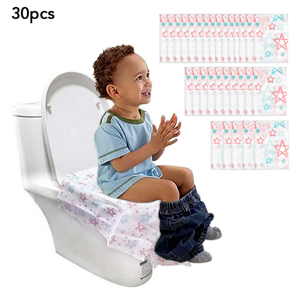 Disposable Waterproof Toilet Seat Cover Paper Large Size Portable Potty
