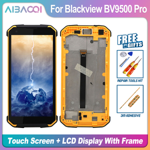 Image 2 - Originele 5.7 Inch Touch Screen + 2160X1080 Lcd scherm + Frame Assembly Vervanging Voor Blackview BV9500/BV9500 Pro/BV9500 Plus
