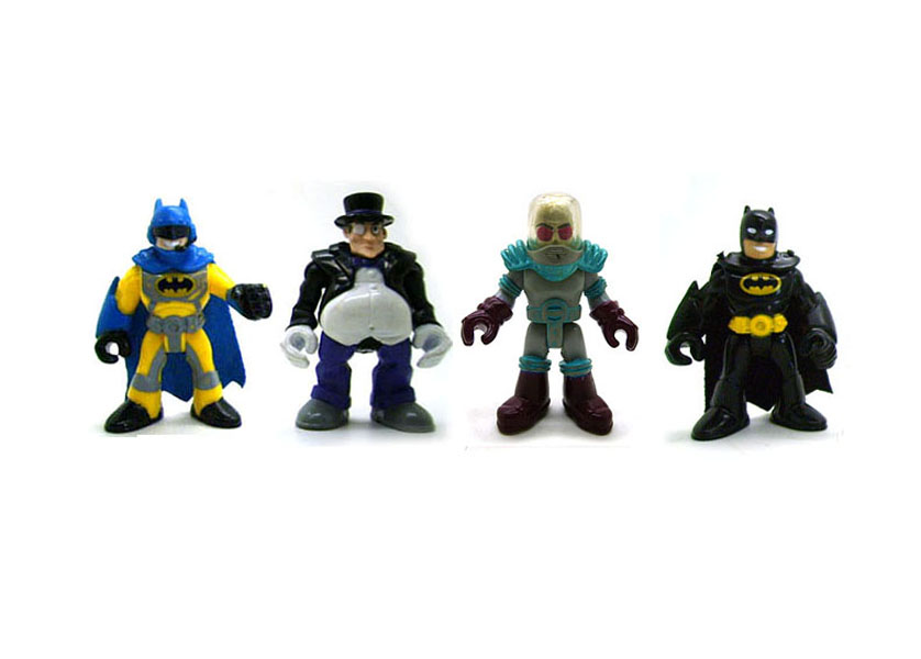 DC Fisher Price Imaginext Catman /& Yellow Batman Loose Action Figure