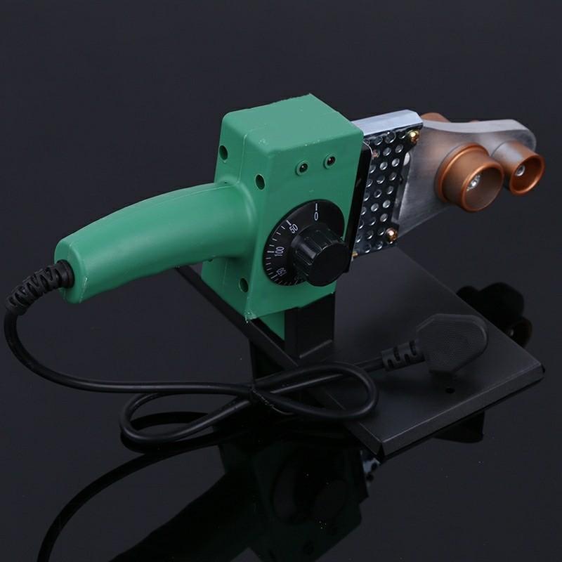 220V 800W Ppr20-63 Plastic Welding Machine Water Pipe Plastic Welder Plumber Tools for Heating Ppr Butt Welding Hot Selling
