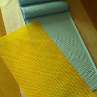 Beekeeping Silicone Beeswax Honeycomb Mold Flexible Wax For Machine Foundation Sheets Press Embosser Wax For Bees Beekeeper