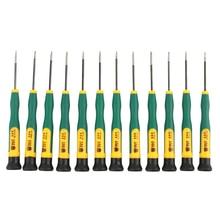 BEST 666 Precision Multi-purpose Magnetic 12 In1 Screwdriver Set For Iphone Samsung Repair Open Tool Screwdriver Kit