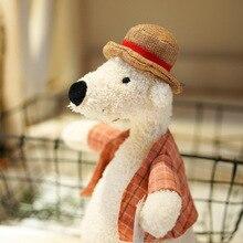 Stitch Plush Toys Stuffed Animal 34cm Mr Vacation Series Doll Cartoon Cute Bear Dog Elephant For Children Gift