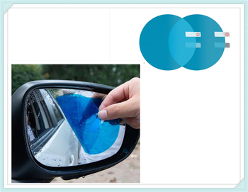 2PCS Car SUV Rearview Mirror Protective Film Rainproof Sticker for BMW EfficientDynamics E46 E39 E38 E90 E60 E93 F30 F31 F80 M3 image