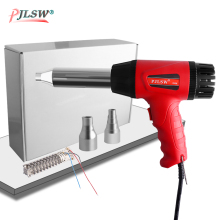 цена на PJLSW Plastic Welding Hot Air Gun 700B 700W 220V Thermostat Hot Air Blower Heat Gun Heater Soldering For car bumper